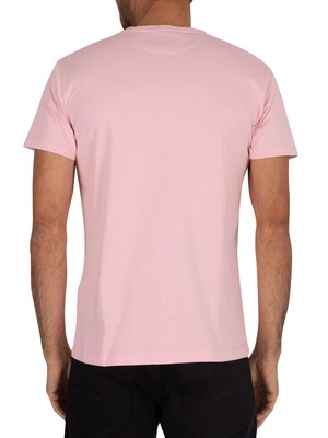 Hackett London Classic Logo T-Shirt - Baby Pink