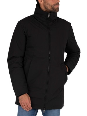 Jack & Jones Rome Parka Jacket - Black