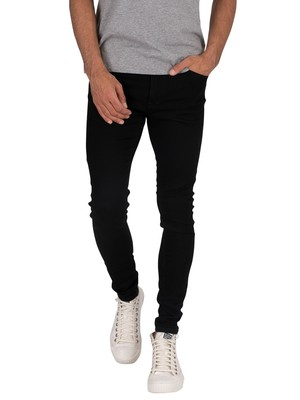 Jack & Jones Tom Original 816 Spray On Jeans - Black