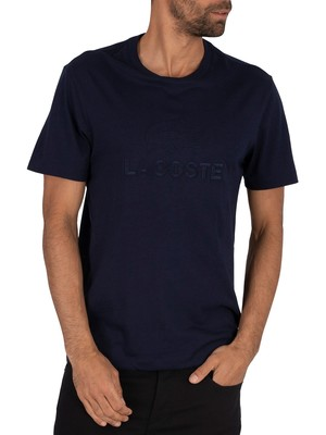 Lacoste Graphic T-Shirt - Navy Blue