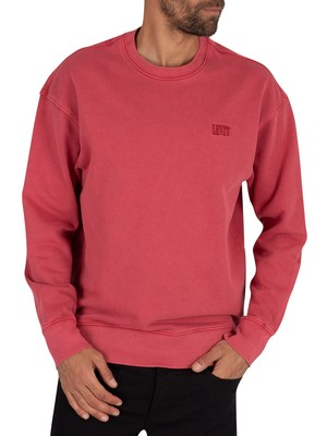 Levi's Authentic Logo Sweatshirt - Red