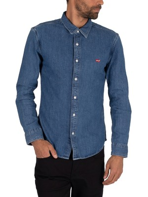 Levi's Battery Slim Shirt - Redcast Stone