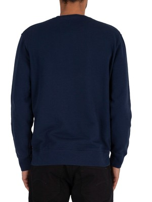 Levi's Logo Colourblock Sweatshirt - Navy