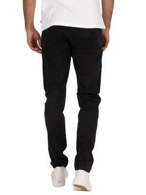 Levi's XX Slim Chinos - Black Shady