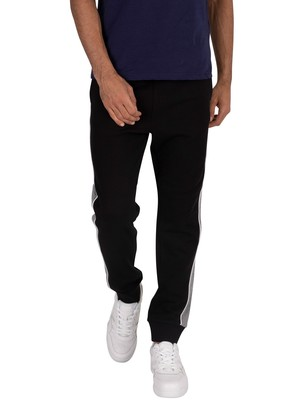 Lyle & Scott Side Panel Joggers - Jet Black