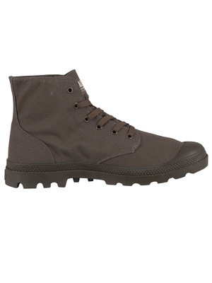 Palladium Pampa Mono Chrome Boots - Olive Night