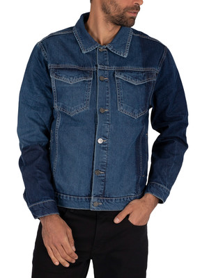 Religion Royalty Denim Jacket - Blue