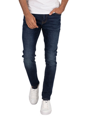 Superdry Skinny Travis Jeans - Carlton Dark Blue