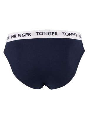 Tommy Hilfiger Flag Briefs - Navy Blazer