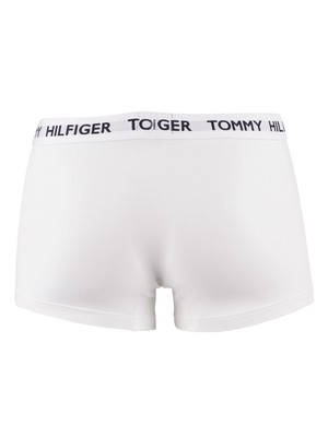 Tommy Hilfiger Flag Waistband Trunks - Classic White