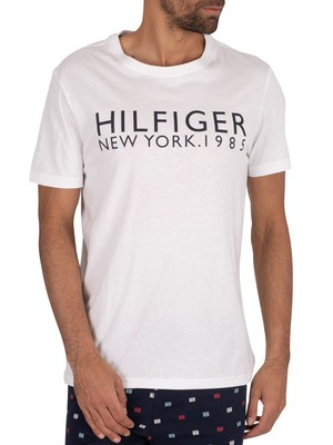 Tommy Hilfiger Lounge Graphic T-Shirt - Classic White