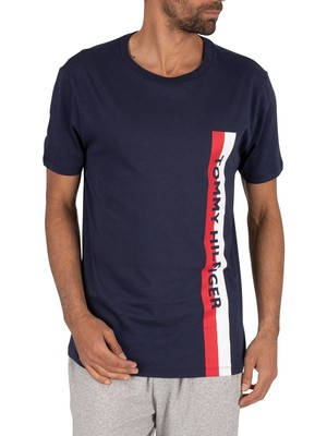 Tommy Hilfiger Lounge Graphic T-Shirt - Pitch Blue