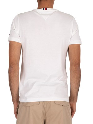 Tommy Hilfiger Squares T-Shirt - White
