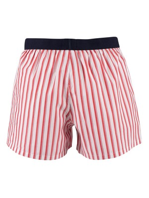 Tommy Hilfiger Woven Boxers - Shirt Stripe/White