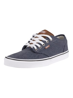 Vans Atwood Enzyme Wash Trainers - Dress Blue/White