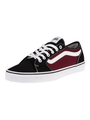 Vans Filmore Decon Canvas Trainers - Black/Port Royale