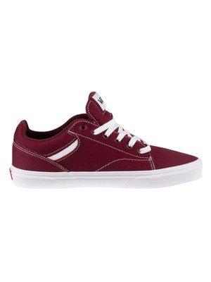 Vans Seldan Canvas Trainers - Port Royale/White