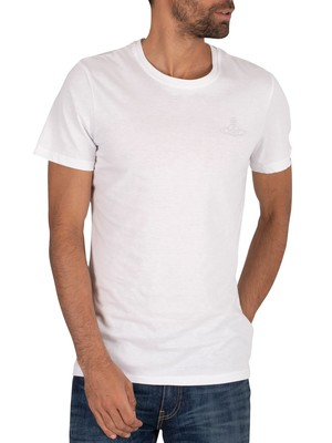 Vivienne Westwood 2 Pack Crew T-Shirt - White