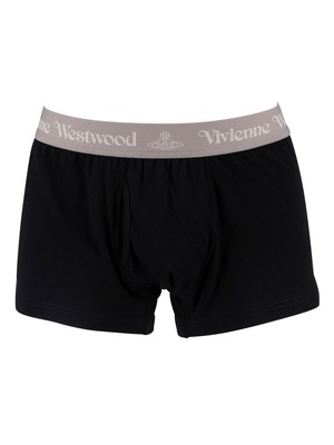 Vivienne Westwood 2 Pack Trunks - Black