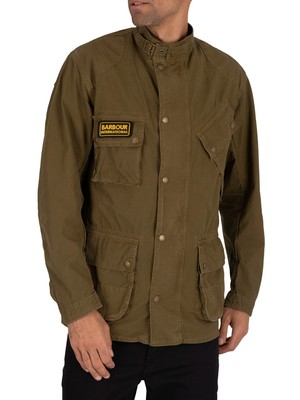 Barbour International Summer Wash Causal Jacket - Green