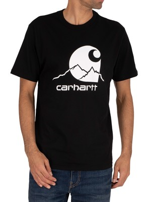 Carhartt WIP Outdoor T-Shirt - Black/White