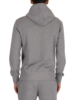 Champion Graphic Pullover Hoodie - Grey