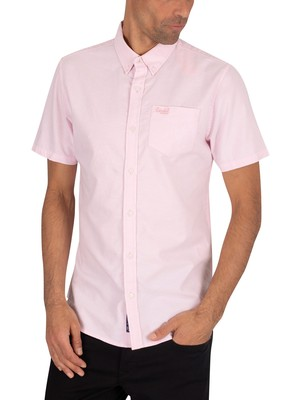 Superdry Classic University Oxford Shortsleeved Shirt - City Pink