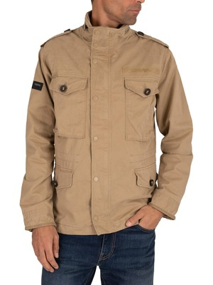 Superdry Field Jacket - Dress Beige