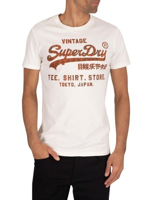 Superdry Shirt Shop Bonded T-Shirt - Desert Bone