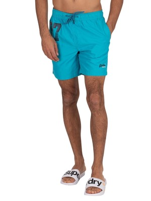Superdry Waterpolo Swim Shorts - Ocean Blue