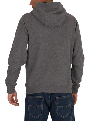 The North Face Drew Peak Pullover Hoodie - Dark Grey