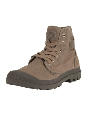 Palladium US Pampa Hi Boots - Dusky Green