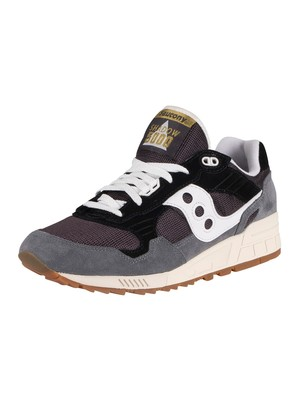 Saucony Shadow 5000 Suede Trainers - Navy/Grey