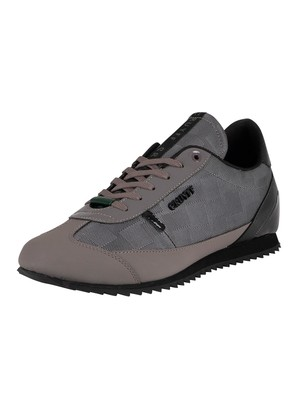 Cruyff Montanya Leather Trainers - Dark Grey