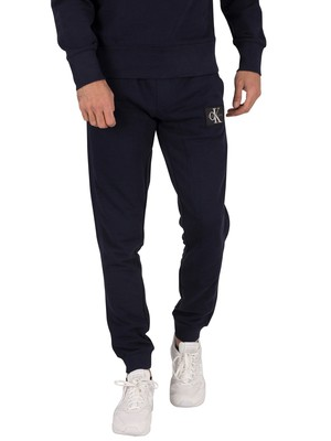 Calvin Klein Jeans Monogram Patch Joggers - Night Sky
