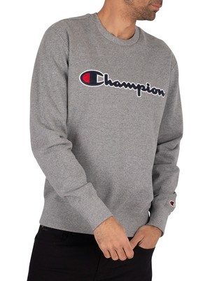 Champion Side Logo Sweatshirt - Grey