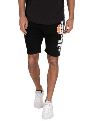 Ellesse Bossini Fleece Sweat Shorts - Black
