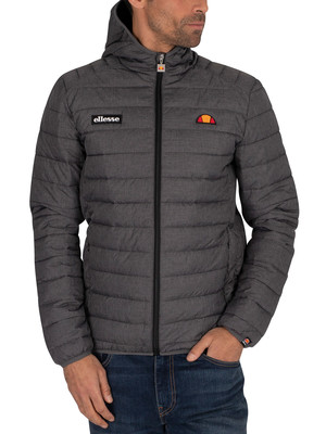 Ellesse Lombardy Padded Jacket - Dark Grey Marl