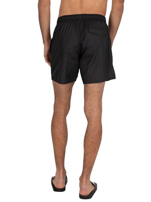 Emporio Armani Boxer Swim Shorts - Black