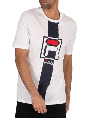 Fila Wes Graphic T-Shirt - White