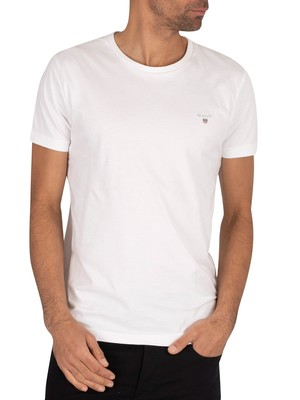 Gant Original Slim T-Shirt - White