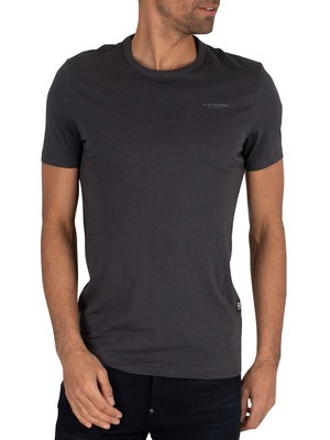 G-Star Block Originals Slim T-Shirt - Lead