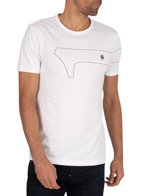 G-Star One Slim T-Shirt - White