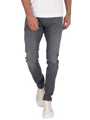 G-Star Revend Skinny Jeans - Antic Chert Grey Destroyed