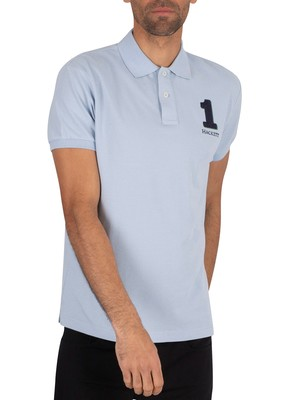 Hackett London New Classic Polo Shirt - Chambray