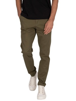 Jack & Jones Marco Bowie Chinos - Olive Night