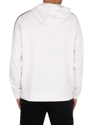 Kappa Authentic Tammy Pullover Hoodie - White/Black