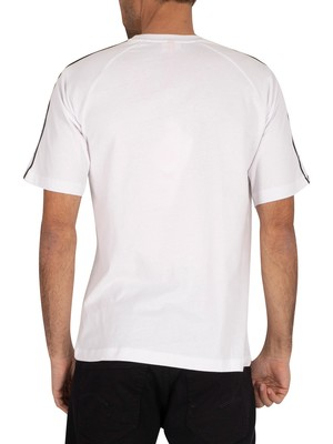 Kappa Authentic T-Shirt - White/Black