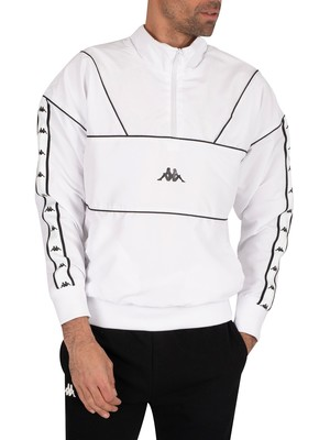 Kappa Authentic Turny Jacket - White/Black