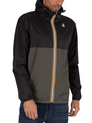 K-Way Le Vrai 3.0 Claude Bicolour Jacket - Black/Black Torba